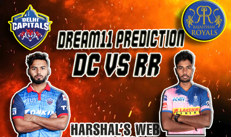DC Vs RR Dream11 Team Prediction